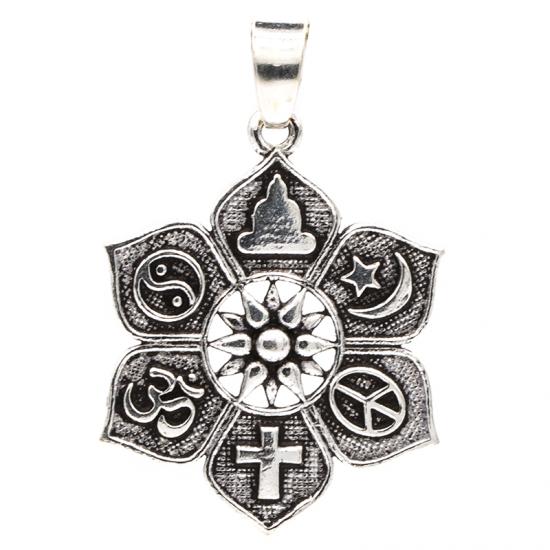 Lotus med symboler