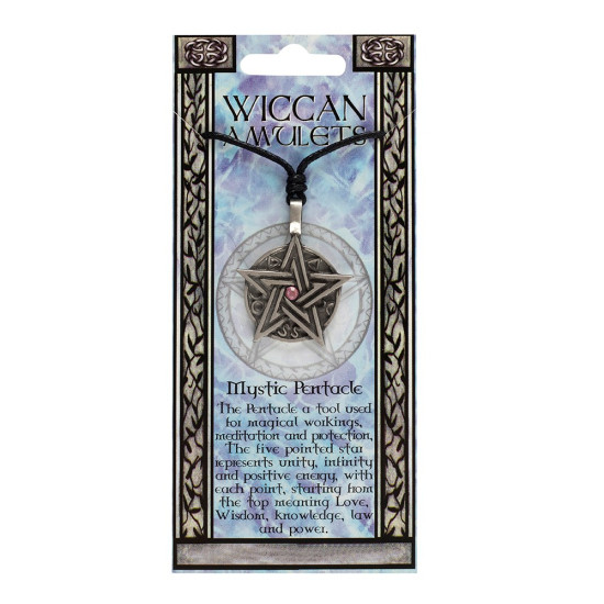 Wicca amulett - Mystic Pentacle