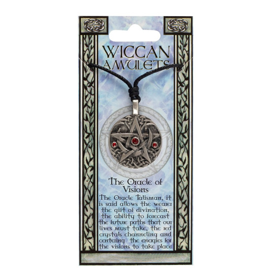 Wicca amulett - The Oracle of Visions
