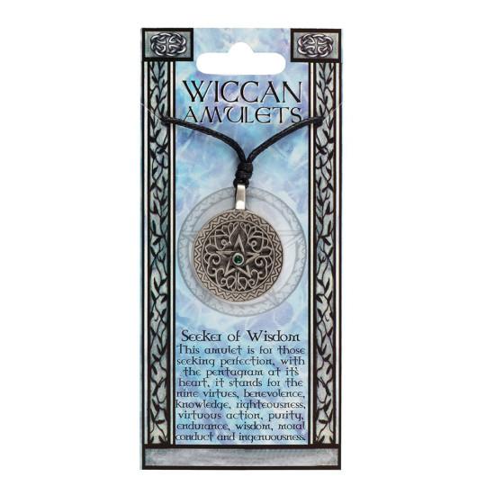 Wicca amulett - Seeker of Wisdom
