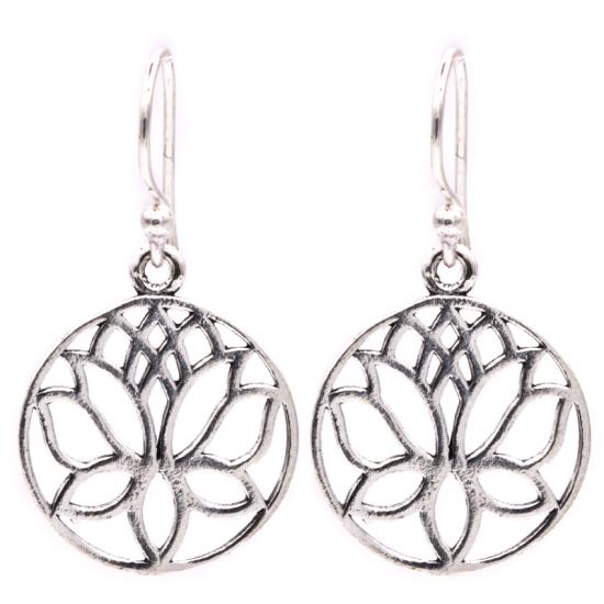 Lotus - Sølvforgylt messing