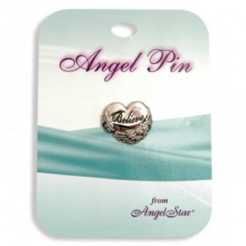 Angel pins - Believe