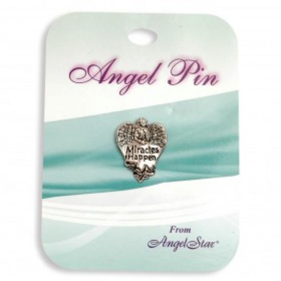 Angel pins - Miracles Happen