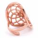 Seed of life - Kobberforgylt messing ring