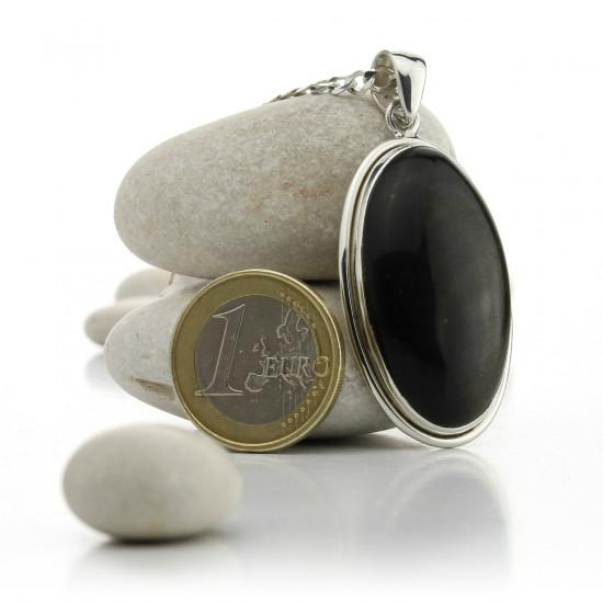 Sort Obsidian - Sølvanheng