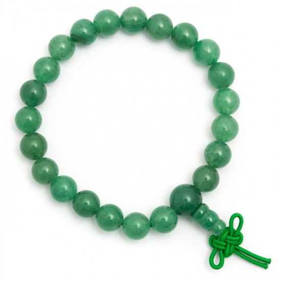 Grønn Aventurin - armbånd