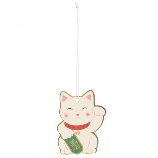 Lucky Money Cat - Cherry - Scented Air Freshener