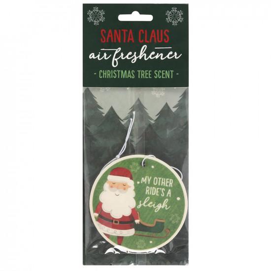 Santa - Christmas Tree - Scented Air Freshener