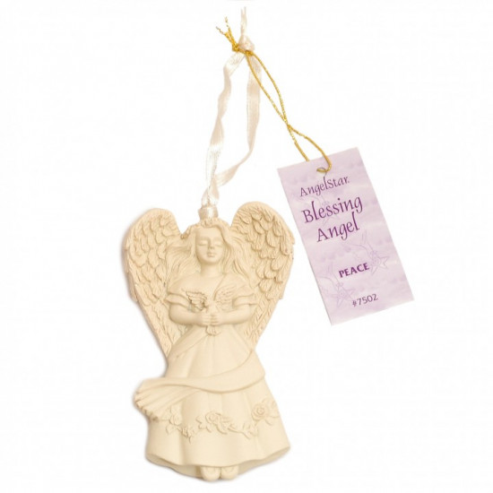 Hanging Blessings Angel - Peace