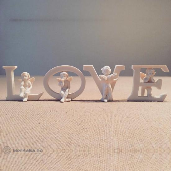 Cherub bokstavsett - LOVE