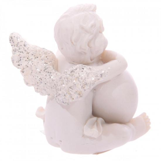 Cherub engel med hjerte - Believe