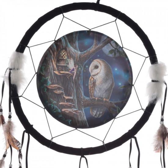 Fairy Tales Owl & Fairy - Drømmefanger - Stor
