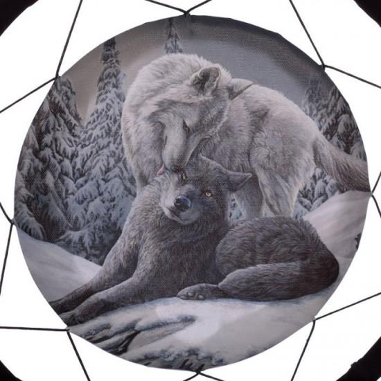 Snow Kisses Wolf - Drømmefanger - Stor