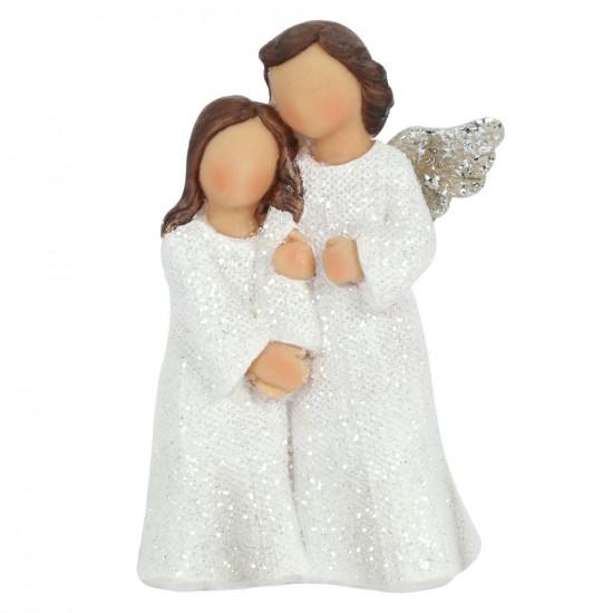 Jente og engel