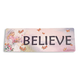 Inspiring Angel Sticker - Believe