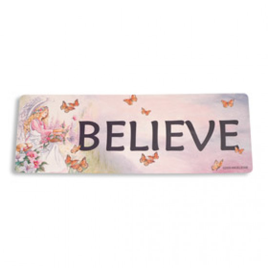 Inspiring Angel Sticker - Believe