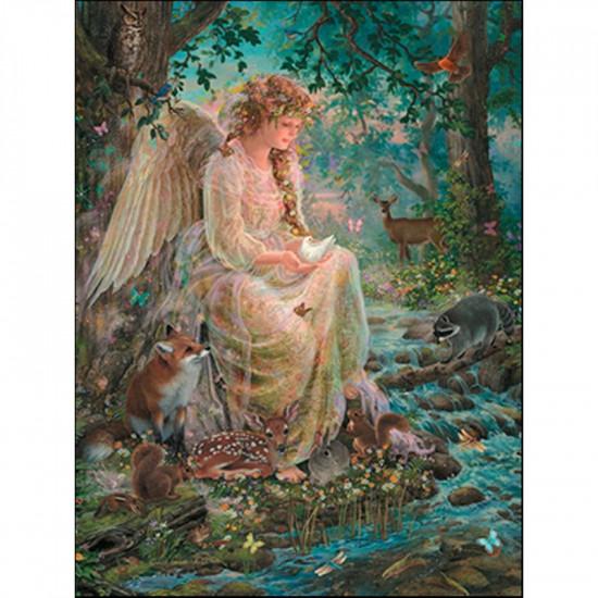 Angel & Woodland  - Kort