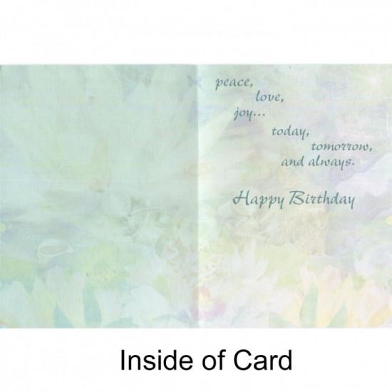 Birthday - Enlightened Forest Heart - Kort