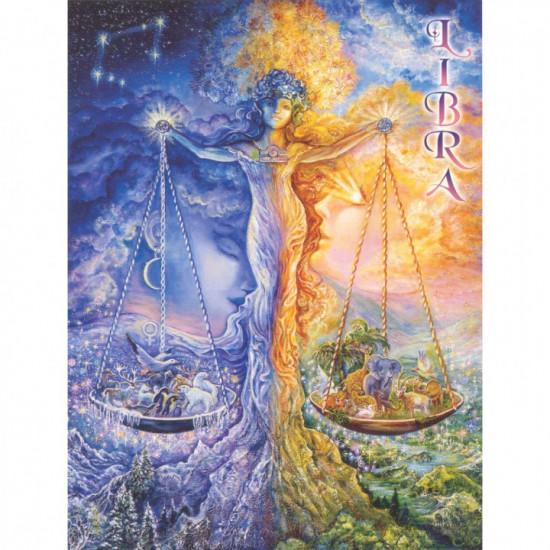 Zodiac - Libra- Kort