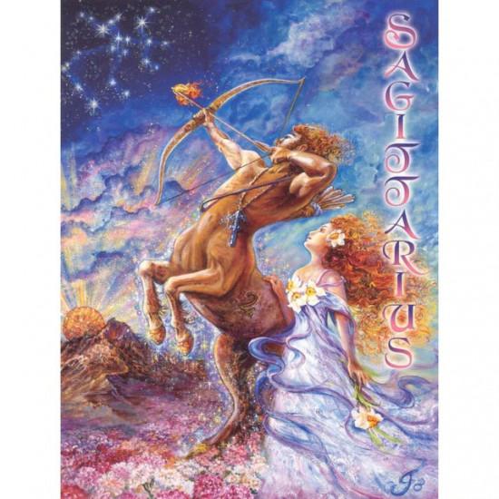 Zodiac - Sagittarius - Kort