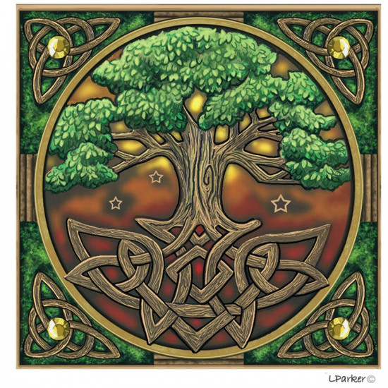 Lisa Parker - Tree of Life - Kort