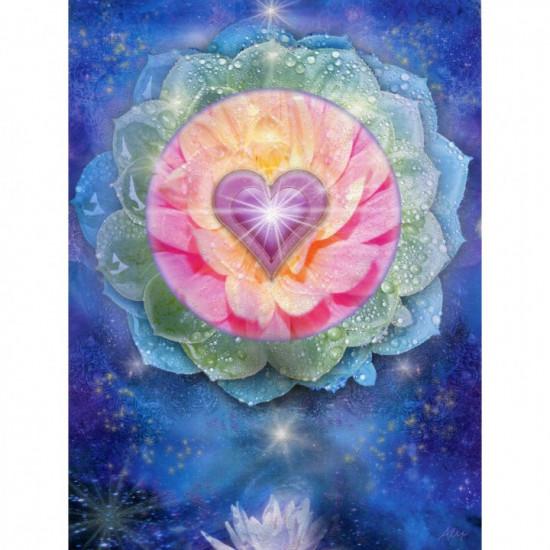 Birthday - Lotus Heart - Kort
