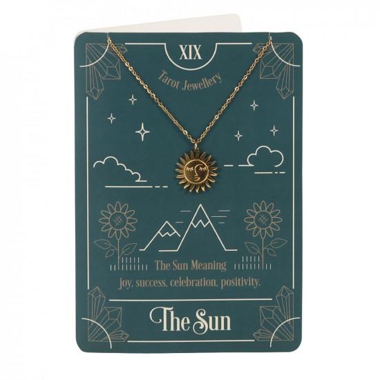 Kort med halskjede - The Sun Tarot