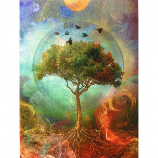 Tree of life - Kort