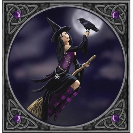 Lisa Parker -  Witch and raven - Kort