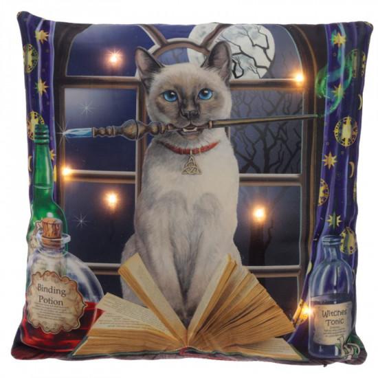 Hocus Pocus Cat - Pute med ledlys