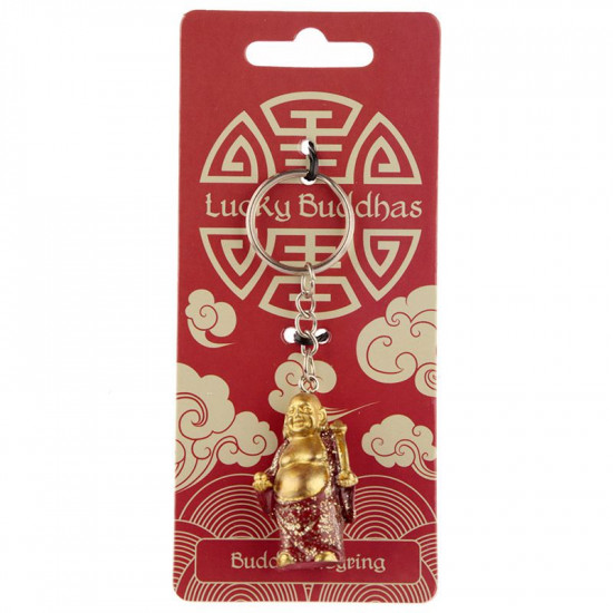 Lucky Buddha - Nøkkelring