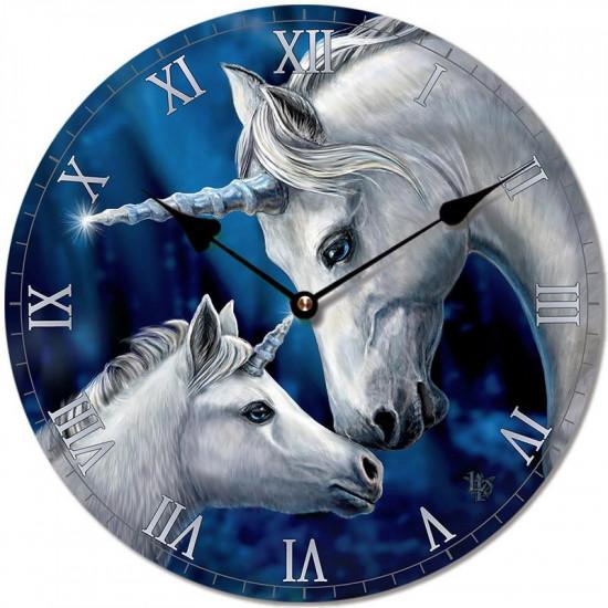 Sacred Love Unicorn - Veggklokke