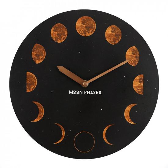 Moon Phases - Veggklokke