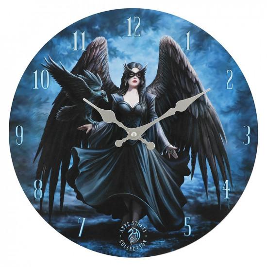 Raven - Veggklokke