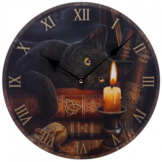 Witching Hour Cat - Veggklokke